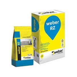Weber RZ 25 kg bianco Finitura liscia a base di pietra di gesso e calce per interni