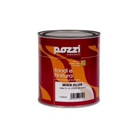 Fondo finitura al ferro micaceo 0,75 lt antracite Pozzi Miox Plus