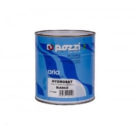 Smalto satinato bianco 0,75 lt per interni ed esterni Pozzi Hydrosat