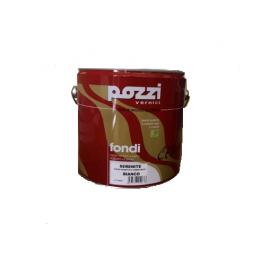 Fondo cementante per ferro e legno 2,5 lt bianco Pozzi Serenite