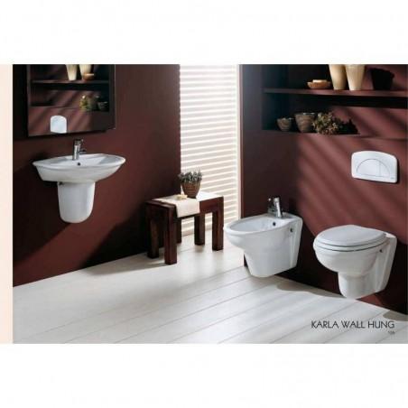 WC filo muro scarico a parete Karla RAK Ceramics KAWC00004