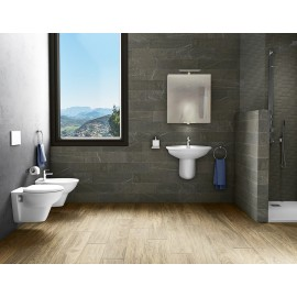 Lavabo 440 x 550 mm con colonna o semicolonna Karla RAK Ceramics KAWB00002