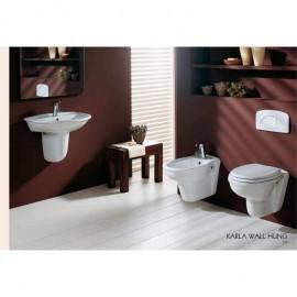 Lavabo 485 x 600 mm con colonna o semicolonna Karla RAK Ceramics KAWB00004