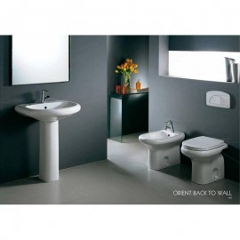 Lavabo 550 x 660 mm con colonna Orient RAK Ceramics ORWB00001