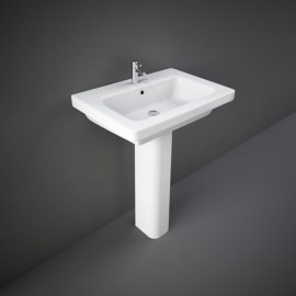 Lavabo con colonna 65 x 46 cm Resort Rak Ceramics