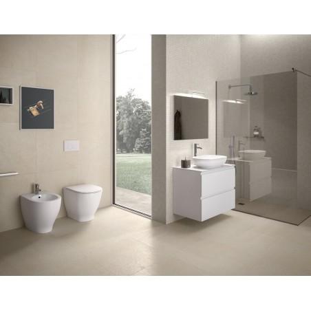 WC filo muro scarico parete & terra Moon Rak Ceramics