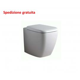 WC filo parete con sedile Ideal Standard serie 21