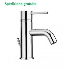Miscelatore lavabo Paini serie Cox scarico con piletta 78CR211 cromato