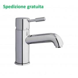 Miscelatore lavabo Rubitor serie Modì scarico con piletta 6530 cromato