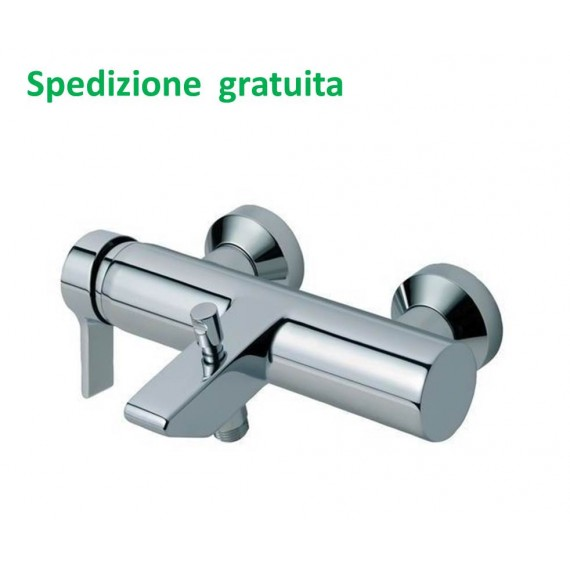 Rubinetto Vasca Ideal Standard.Miscelatore Vasca Esterno Con Doccia Duplex Ideal Standard Serie
