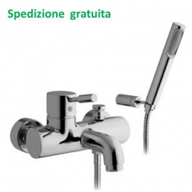 Miscelatore vasca doccia duplex Rubitor serie Modì 6515 cromato