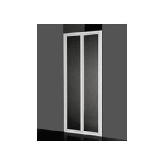 Giava Box Doccia Prezzi.Box Doccia A Parete Fissa 68 72 Cm Acrilico Con Profilo Bianco Giava