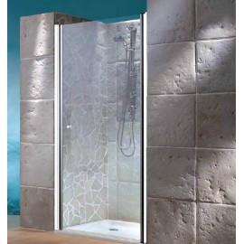Box doccia a porta battente 88/90 cm vetro 6 mm Dianhydro Selene 100-CB1S-90