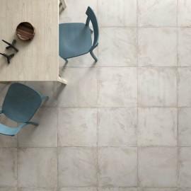 Pavimento grès porcellanato 33,4 x 33,4 cm Cermat Ceramicas serie Palazzo grigio