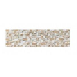 Rivestimento grès porcellanato 15,5 x 50 cm Elfos Ceramica Minos Crema 1P15NS11