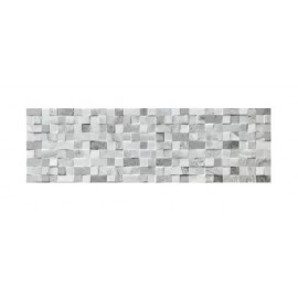 Rivestimento grès porcellanato 15,5 x 50 cm Elfos Ceramica Minos Gris