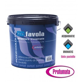 Idropittura murale supertraspirante profumata Pozzi Favola 14 Lt  12018.0000 bianco