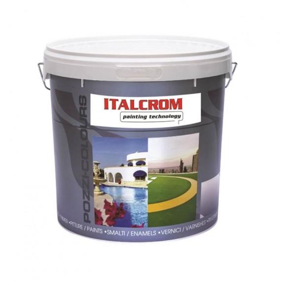 Rivestimento murale plastico al quarzo Italcrom Quarzopiù S0423 bianco