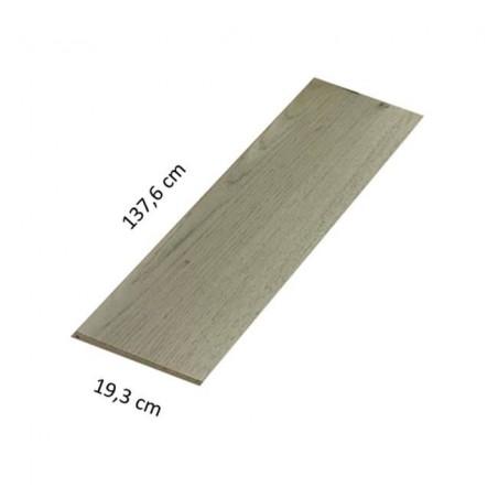Parquet laminato 7 mm 138 x 19 cm D5262 rovere grigio