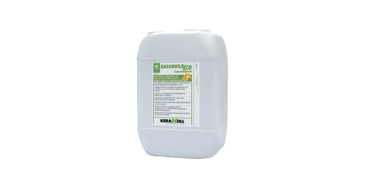 Rasobuild Eco Consolidante 25 kg 01868  Kerakoll Fissativo per consolidare intonaci vecchi e nuovi