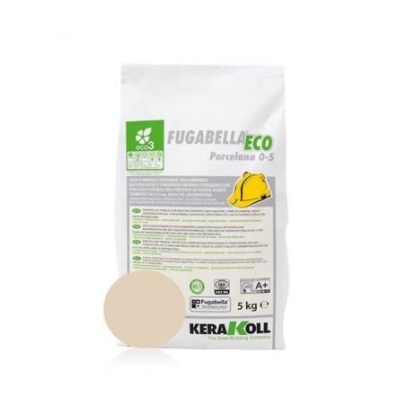Fugabella Eco Porcelana 0-5 bahama beige 5 kg Kerakoll 03885 08 Stucco per fughe