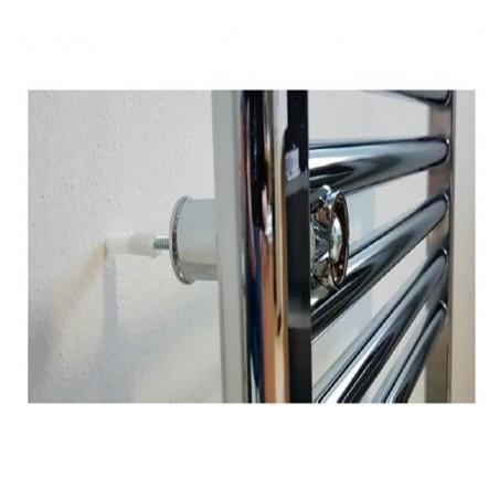 (Termoarredo acciaio - disponibili diverse misure) Scaldasalviette Ø25 cromato Ercos linea Monica ASMCCF9300
