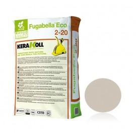 Fugabella Eco Porcelana 2-20 grigio perla 25 kg Kerakoll 10753 03 Stucco per fughe