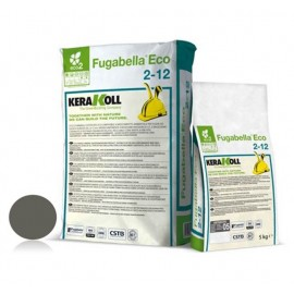 Fugabella Eco Porcelana 2-12 antracite 25 kg Kerakoll 04055 05 Stucco per fughe