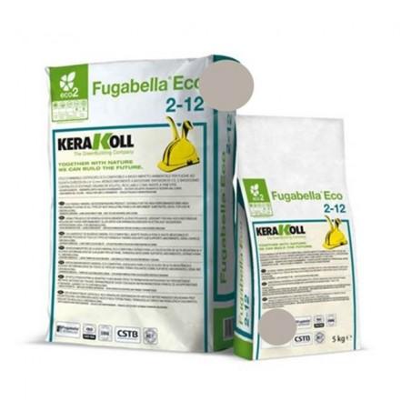 Fugabella Eco Porcelana 2-12 grigio ferro 5 kg Kerakoll 10176 04 Stucco per fughe