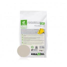 Fugabella Eco Porcelana 0-5 grigio perla 5 kg Kerakoll 03890 03 Stucco per fughe
