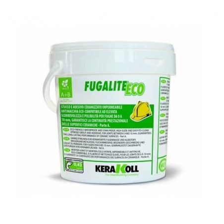 Stucco per fughe Kerakoll Fugalite Eco A+B 3 kg 06958 bianco