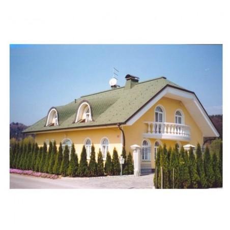 Tegola bituminosa Tegola canadese Premium Traditional 3,05 mq 2111030001073 verde sfumato
