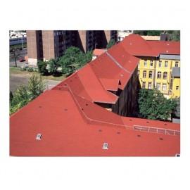 Tegola bituminosa Tegola canadese Premium Rectangular 3,05 mq 2101030001001 rosso unito