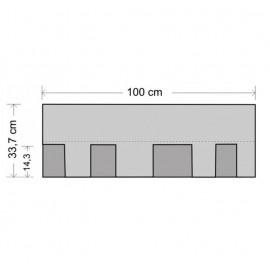 Tegola bituminosa Tegola canadese Master 2 mq 2255010001129 legno scandola