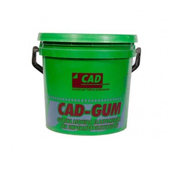 Cad Gum 5 kg verde Guaina liquida per impermeabilizzazioni