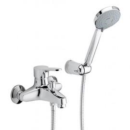 Miscelatore vasca doccia duplex Effepi serie Pinto 22008 CR