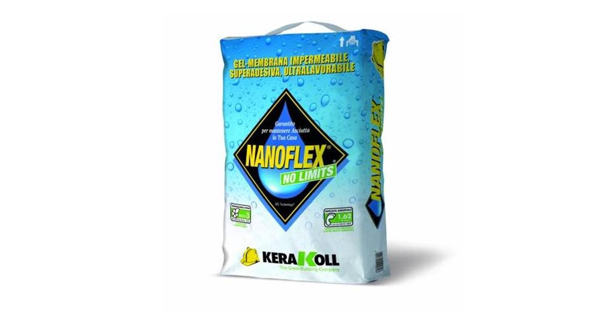 Impermeabilizzante Kerakoll Nanoflex No Limits 20 kg 14580