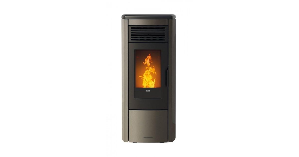 Klover Thermoaura 15 Kw bronzo termostufa a pellet