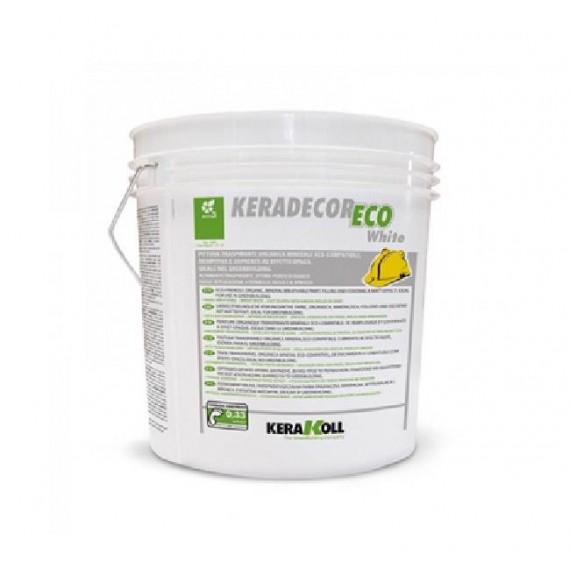 Pittura traspirante Kerakoll Keradecor Eco White 14 lt 22734 bianco