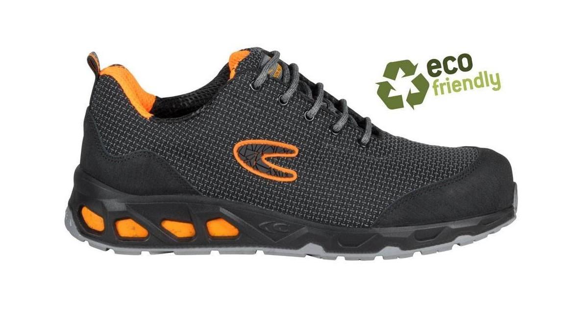 Scarpa antinfortunistica Cofra mod. Mega S3 SRC grigio/arancione green fit