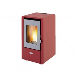 Stufa a pellet 6.15 kW King 60 bordeaux