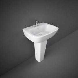 Lavabo 60 cm con colonna One RAK Ceramics ONWB00002