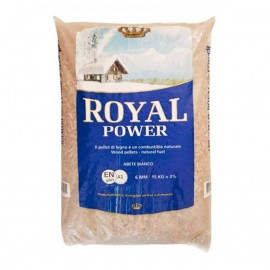 Pellet di abete bianco Royal Power 15 kg