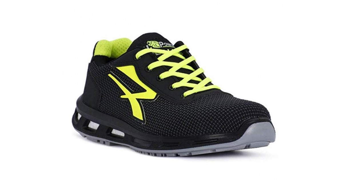 Scarpe antinfortunistiche U Power Prime S3 CI SRC ESD nero/giallo