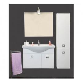 Mobile bagno sospeso 85 cm con lavabo