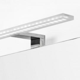 Applique LED 30 cm IP44  per specchio da bagno luce bianca fredda in alluminio e plastica