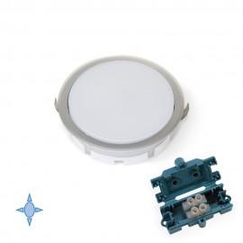 Faretto LED Ø 85 mm luce bianca fredda