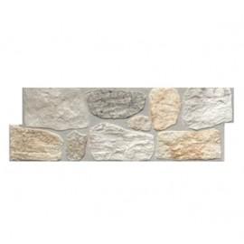 Rivestimento grès porcellanato 20 x 60 cm effetto pietra wall beige