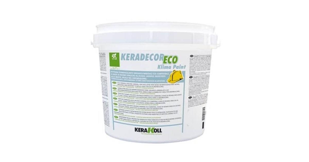 Keradecor Eco Klima Paint bianco Kerakoll pittura termoisolante lavabile