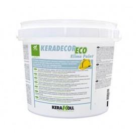 Keradecor Eco Klima Paint 14 lt bianco Kerakoll pittura termoisolante lavabile